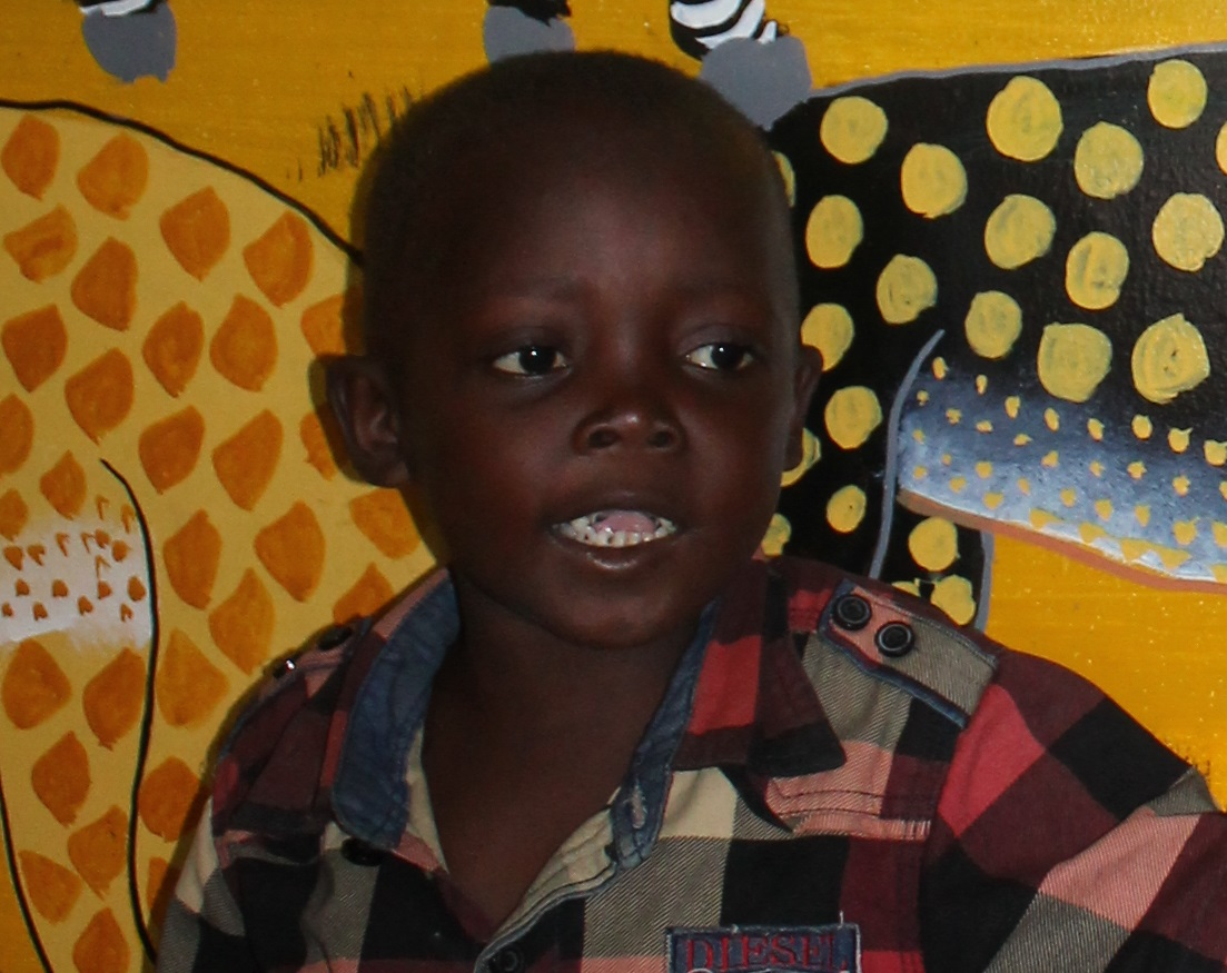 Selemani Hamij is a smiling, healthy child after receiving treatment for Burkitt's Lymphoma