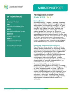 thumbnail of hurricane-matthew-sitrep