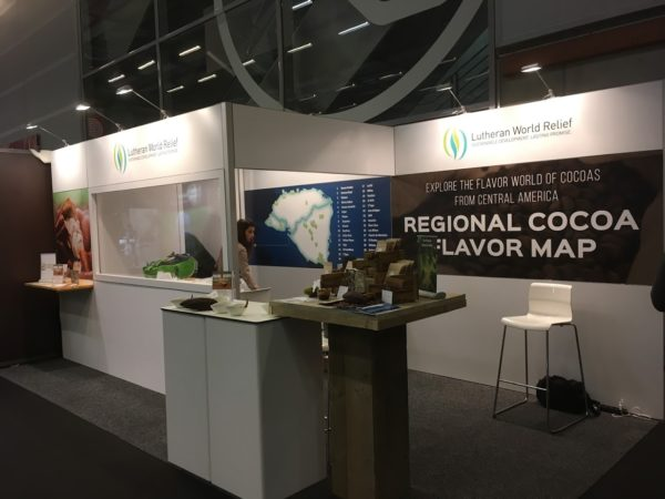 LWR Booth at the Salon du Chocolat