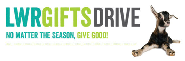 LWR Gifts Drive graphic