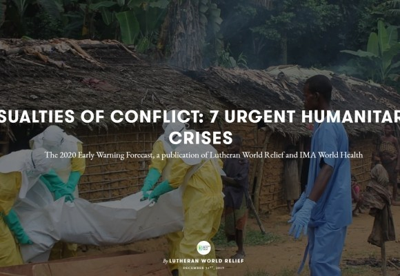 The 2020 Early Warning Forecast: 7 Urgent Humanitarian Crises
