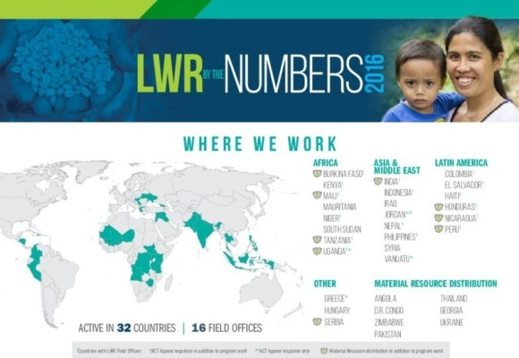 2016 LWR by the Numbers