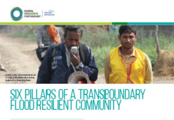 Six Pillars of a Transboundary Flood Resilient Community