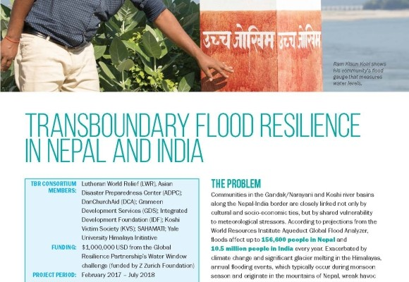 Transboundary Flood Resilience in Nepal and India