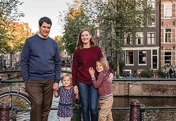 Donor Spotlight: Making a monthly difference, even from Amsterdam