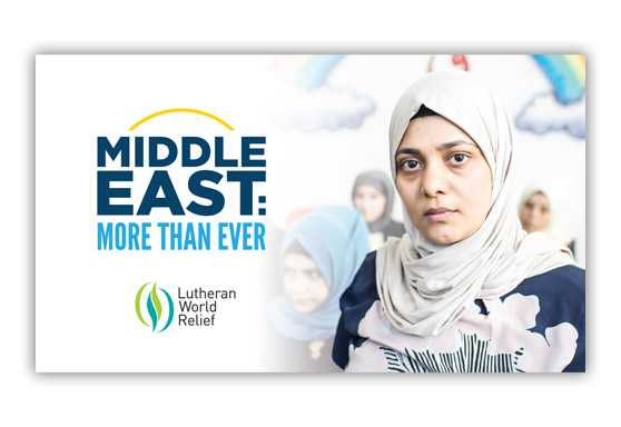 Middle East: More Than Ever Pew Envelope