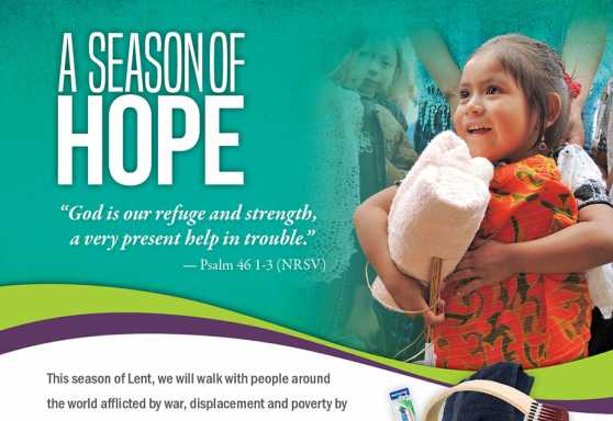 SEASON OF HOPE - LENT POSTER