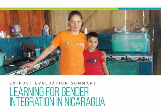 Learning for Gender Integration in Nicaragua Ex-Post Evaluation Summary
