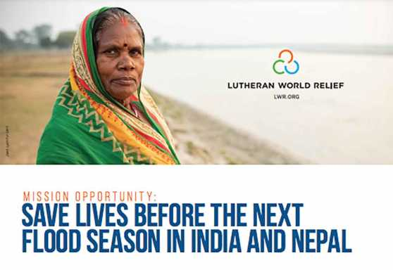 Mission Opportunity: Save lives before the next flood season in India and Nepal