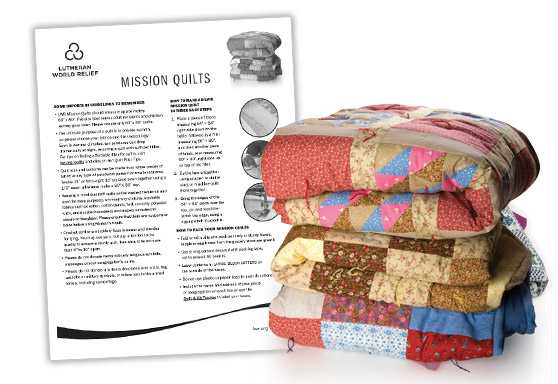 Mission Quilt Assembly Instructions