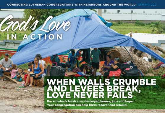 God's Love in Action Spring 2021