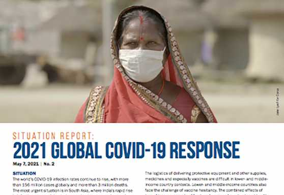 Situation Report: 2021 Global COVID-19 Response No. 2