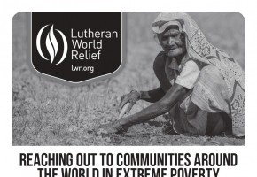 Bulletin Insert: Reaching Out to Others Around the World Living in Extreme Poverty (B/W)