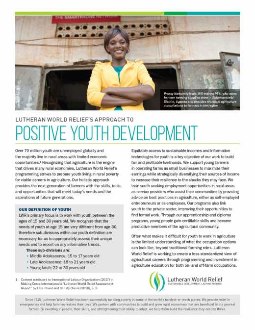 Postive Youth Development