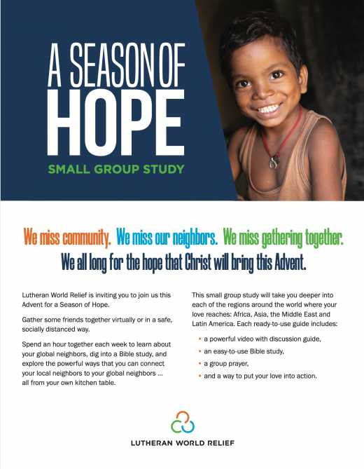 A Season of Hope: Small Group Study
